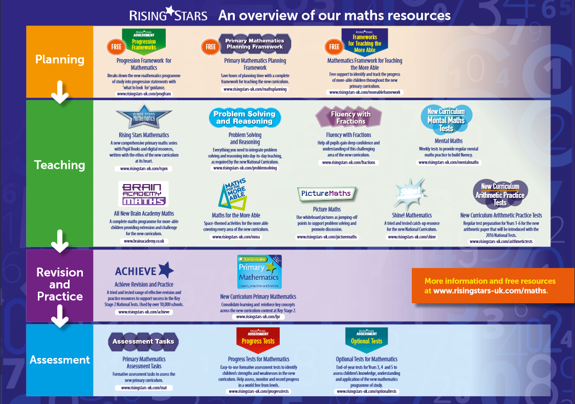 explain the teachers programme and plans for maths teaching and learning