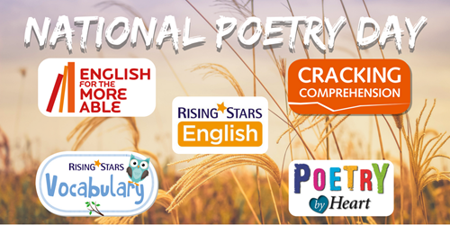 National Poetruy Day with Rising Stars