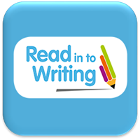 read in to writing button