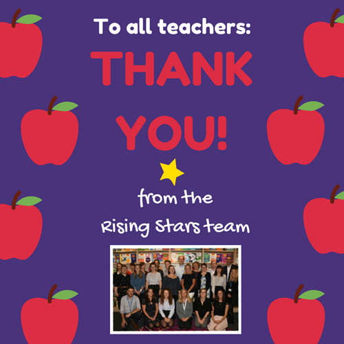 Thank you to all teachers!