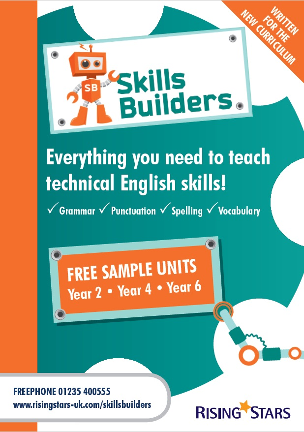 Skill Builders - Grammar, Punctuation, Spelling and Vocabulary
