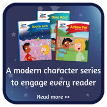 A modern character series to engage every reader