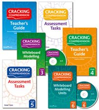 Cracking Comprehension covers