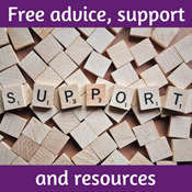 Free advice, support and resources