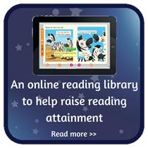 An online reading library to help raise reading attainment