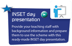 INSET day presentation - Provide your teaching staff with background information and prepare them to use the scheme with this ready-made INSET day presentation.