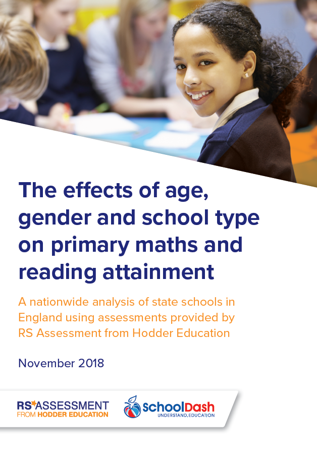 2018 white paper: The effects of age, gender and school type on primary maths and reading attainment