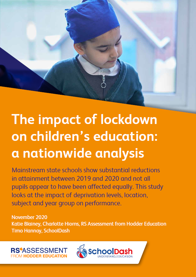 2020 white paper. The impact of lockdown on children's education: a nationwide analysis