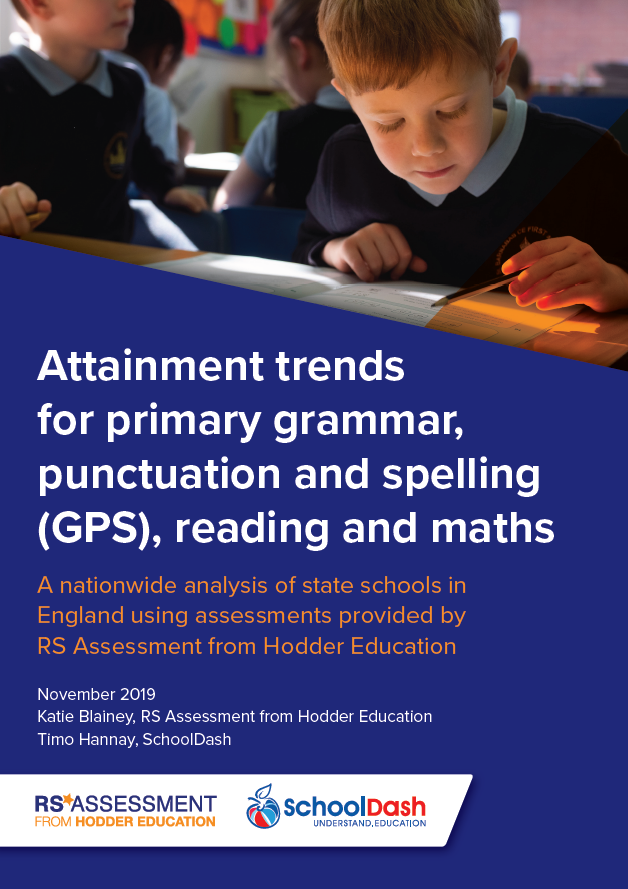 2019 white paper: Attainment trends in primary grammar, punctuation and spelling, reading and maths