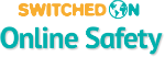 switched on online safety logo