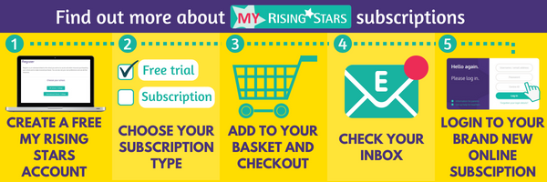 Find out more about My Rising Stars subscriptions