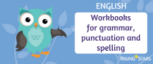 English - workbooks for grammar punctuation and spelling
