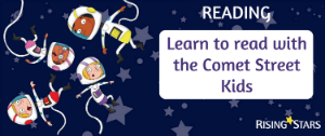 Learn to read with the Comet Street Kids
