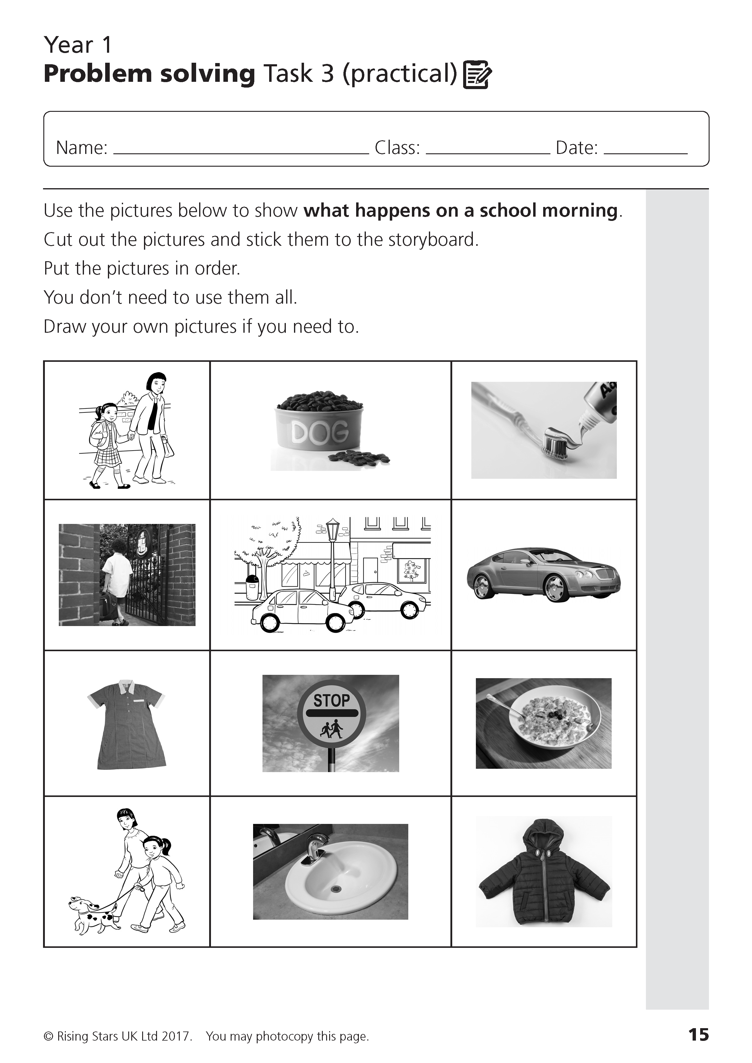 problem solving activities for primary students