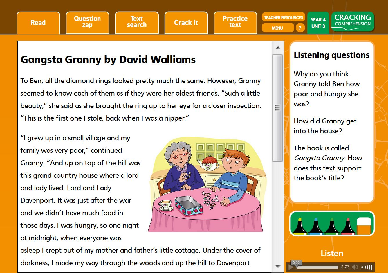 - Comprehension Resources For Year 4 - Cracking Comprehension