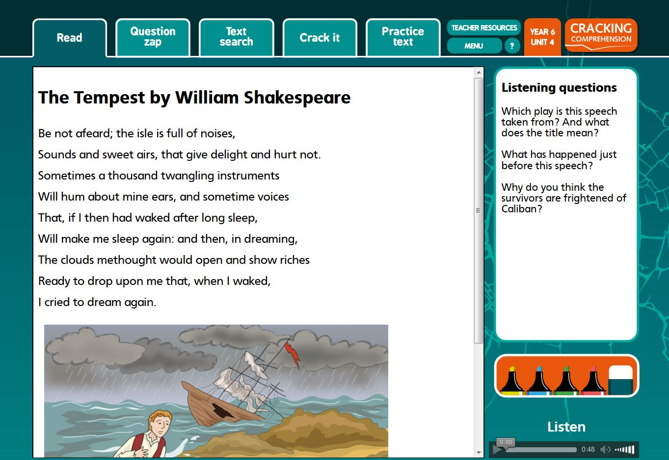 - Cracking Comprehension - Primary Education English Literacy Resources