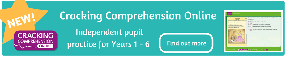Cracking Comprehension Online banner
