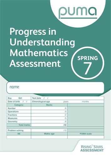 PUMA Maths Tests For Pupil Assessment | Rising Stars