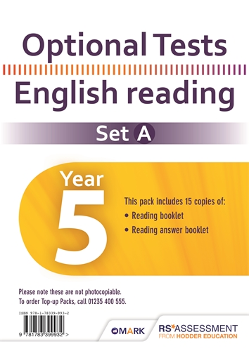Optional Tests - Reliable SATs-Style Test Papers For Years 1 to 6